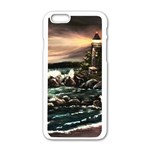 Kerry s Lighthouse -  Ave Hurley   - Apple iPhone 6 White Enamel Case