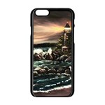 Kerry s Lighthouse -  Ave Hurley   - Apple iPhone 6 Black Enamel Case