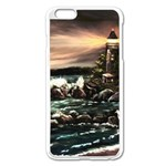 Kerry s Lighthouse -  Ave Hurley   - Apple iPhone 6 Plus Enamel White Case