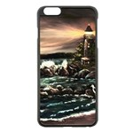 Kerry s Lighthouse -  Ave Hurley   - Apple iPhone 6 Plus Black Enamel Case