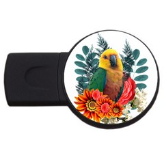 Parrot 4gb Usb Flash Drive (round) by infloence