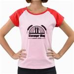 ?llaget Sortskyisgrey Women s Cap Sleeve T-Shirt