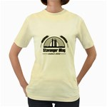 ?llaget Sortskyisgrey Women s Yellow T-Shirt