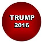 Trump 2016 -  Magnet 5  (Round)