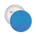 Textured Blue & Purple Abstract 2.25  Button