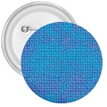Textured Blue & Purple Abstract 3  Button