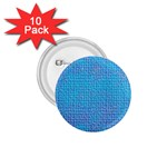 Textured Blue & Purple Abstract 1.75  Button (10 pack)
