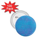 Textured Blue & Purple Abstract 1.75  Button (100 pack)