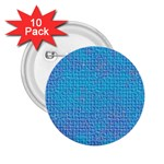 Textured Blue & Purple Abstract 2.25  Button (10 pack)