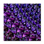 Blue purple Glass Ceramic Tile