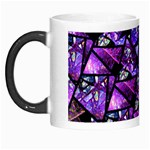 Blue purple Glass Morph Mug