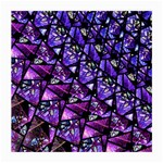 Blue purple Glass Glasses Cloth (Medium, Two Sided)