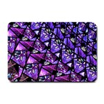 Blue purple Glass Small Door Mat