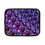 Blue purple Glass Netbook Sleeve (Small)