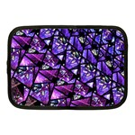 Blue purple Glass Netbook Sleeve (Medium)