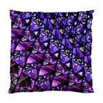 Blue purple Glass Cushion Case (Two Sided)