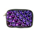 Blue purple Glass Coin Purse