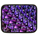Blue purple Glass Netbook Sleeve (XXL)