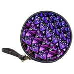 Blue purple Glass CD Wallet