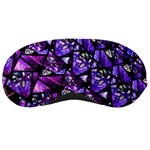 Blue purple Glass Sleeping Mask