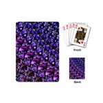 Blue purple Glass Playing Cards (Mini)