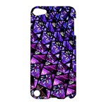Blue purple Glass Apple iPod Touch 5 Hardshell Case