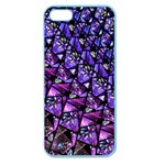Blue purple Glass Apple Seamless iPhone 5 Case (Color)
