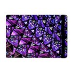 Blue purple Glass Apple iPad Mini Flip Case