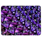 Blue purple Glass Samsung Galaxy Tab 7  P1000 Flip Case