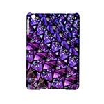 Blue purple Glass Apple iPad Mini 2 Hardshell Case