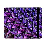 Blue purple Glass Samsung Galaxy Tab Pro 8.4  Flip Case