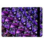 Blue purple Glass Samsung Galaxy Tab Pro 12.2  Flip Case