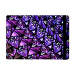 Blue purple Glass Apple iPad Mini 2 Flip Case