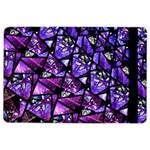 Blue purple Glass Apple iPad Air 2 Flip Case