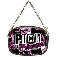 Punk Princess Chain Purse (one Side) by ArtistRoseanneJones
