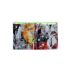 Abstract Graffiti Cosmetic Bag (xs) by ArtistRoseanneJones