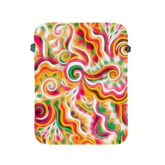 Sunshine Swirls Apple Ipad Protective Sleeve by KirstenStar