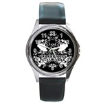 VQM Round Metal Watch