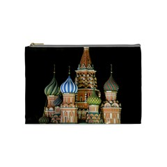 Saint Basil s Cathedral  Cosmetic Bag (medium)