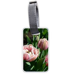 Tulips Luggage Tag (one Side)