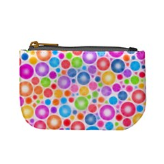 Candy Color s Circles Coin Change Purse by KirstenStar