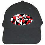Shattered Life Tricolor Black Baseball Cap