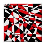 Shattered Life Tricolor Ceramic Tile