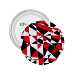 Shattered Life Tricolor 2.25  Button