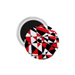 Shattered Life Tricolor 1.75  Button Magnet