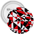 Shattered Life Tricolor 3  Button