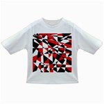 Shattered Life Tricolor Baby T-shirt