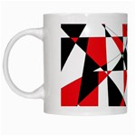 Shattered Life Tricolor White Coffee Mug