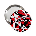 Shattered Life Tricolor Handbag Mirror (2.25 )