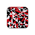 Shattered Life Tricolor Drink Coaster (Square)